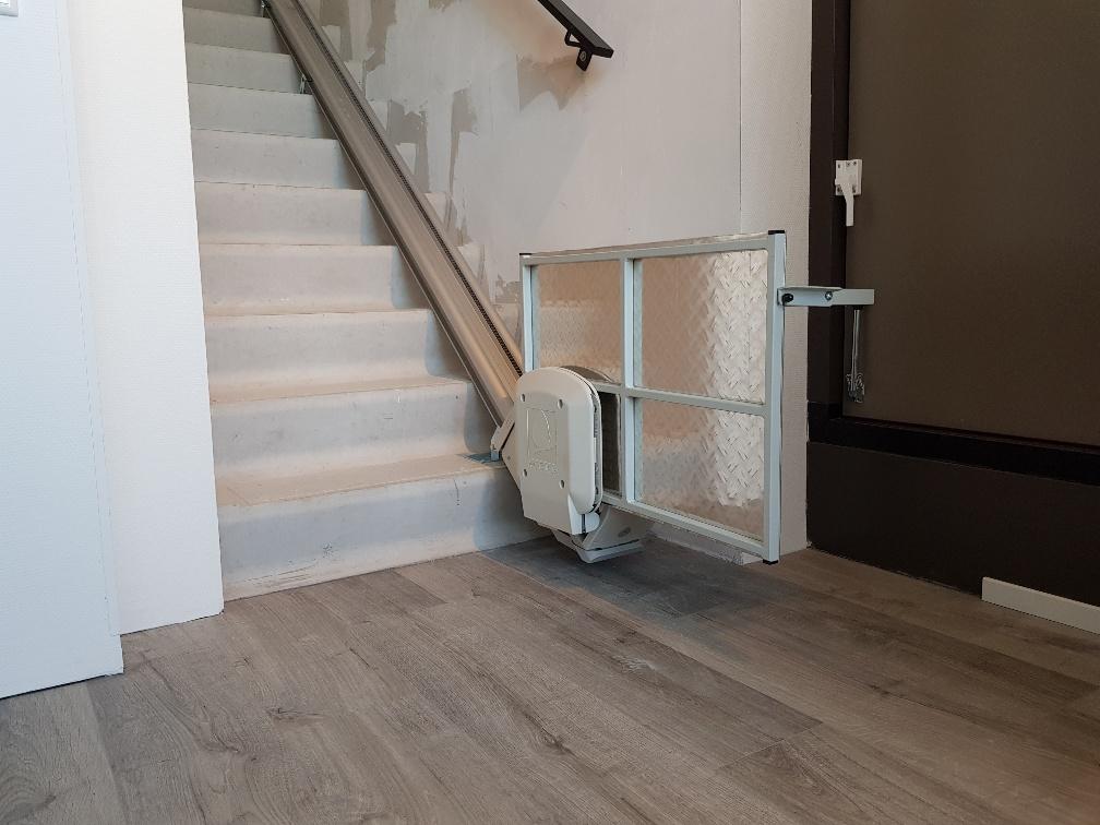 Blijft de trap doorloopbaar?