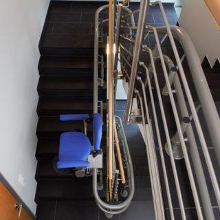 gebogen trapliften